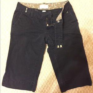 Black Bermuda Pants
